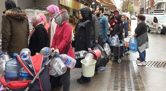 İzmirde 3 günlük su kesintisi