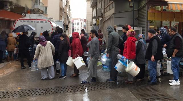 İzmirde 3 ilçeye 3 günlük su kesintisi