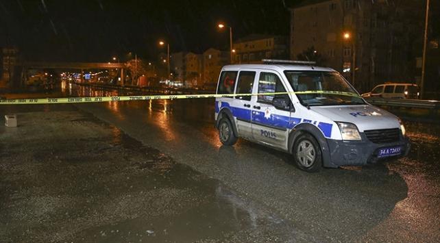 Büyükçekmecede silahlı saldırı: 1 bekçi yaralandı
