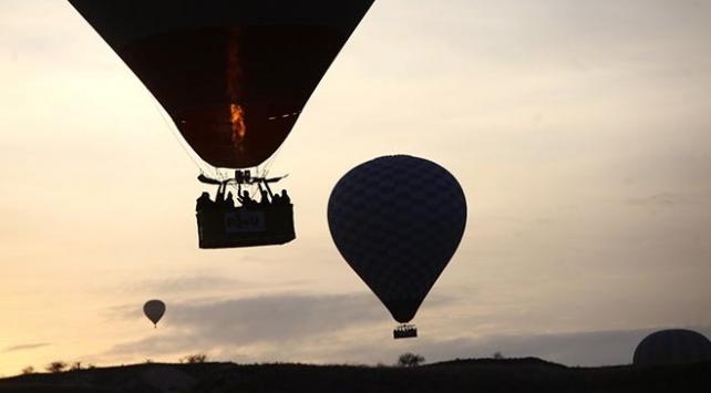Kapadokyada balon turları 3 gündür yapılamıyor