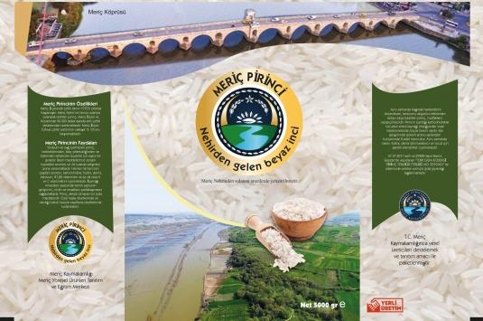 Meriç pirinci için markalaşma atağı başlatıldı