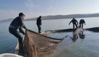 Muş'ta baraj gölü balıkçıların geçim kaynağı oldu