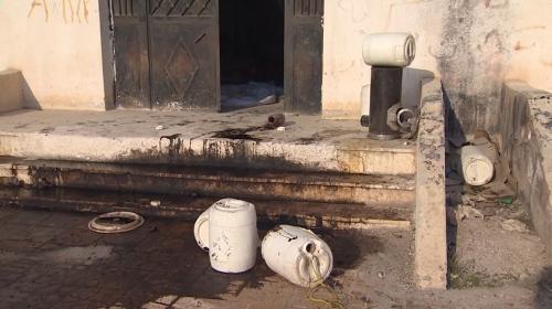Terör örgütü PKK/YPG Tel Abyad'daki okulu patlayıcı deposu yapmış