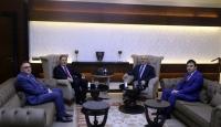 Kamu Başdenetçisi Şeref Malkoç, Aydın Valisi Köşger'i ziyaret etti