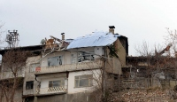 Tokat'ta şiddetli rüzgar hasara yol açtı