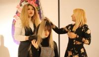 Reyhanlı'da öğrencilere uygulamalı kuaförlük dersi verildi