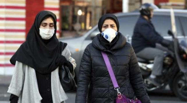 İranın Kum kentinde eğitime hava kirliliği engeli