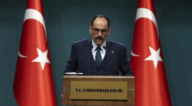 Cumhurbaşkanlığı Sözcüsü Kalın: Montröyü tartışmaya açmayız