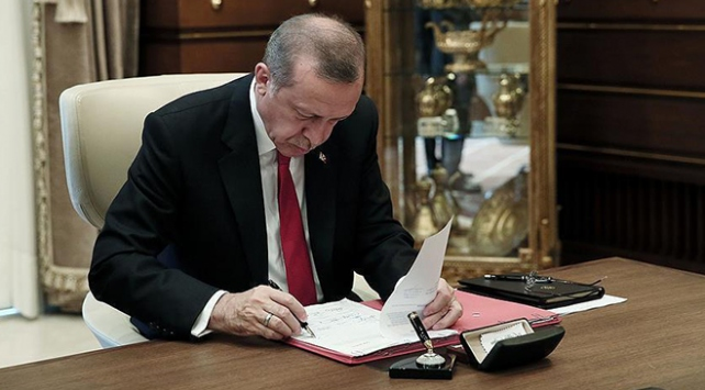 Cumhurbaşkanı kararları Resmi Gazetede