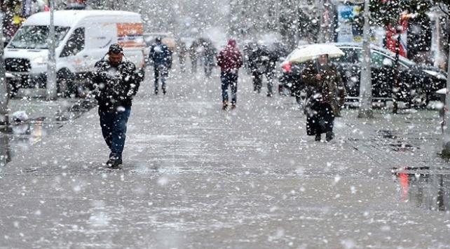 Dört il için kar ve fırtına uyarısı