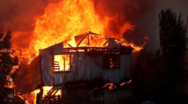 Şilideki orman yangınlarında 120 ev alevlere teslim oldu