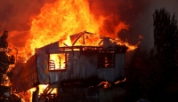 Şili'deki orman yangınlarında 120 ev alevlere teslim oldu