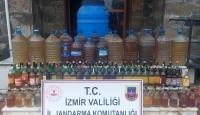 İzmir'de 474 litre sahte şarap ele geçirildi