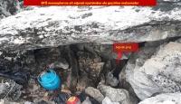 Diyarbakır'da PKK'lı teröristlerce kullanılan 3 kış sığınağı ve 19 mağara imha edildi