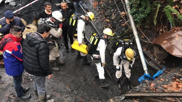 Zonguldakta ruhsatsız maden ocağında patlama: 1 yaralı