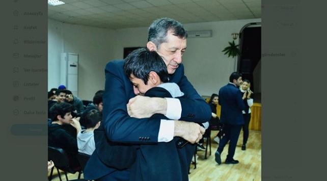 Milli Eğitim Bakanı Ziya Selçuktan duygusal paylaşım