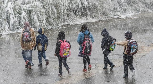 Kayseri, Kahramanmaraş ve Adananın bazı ilçelerinde eğitime kar engeli