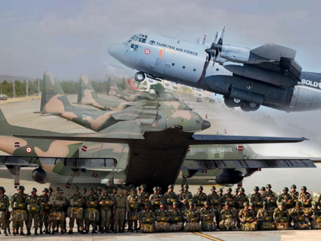 Hava Kuvvetleri Komutanlığının emektarı: C-130 Hercules
