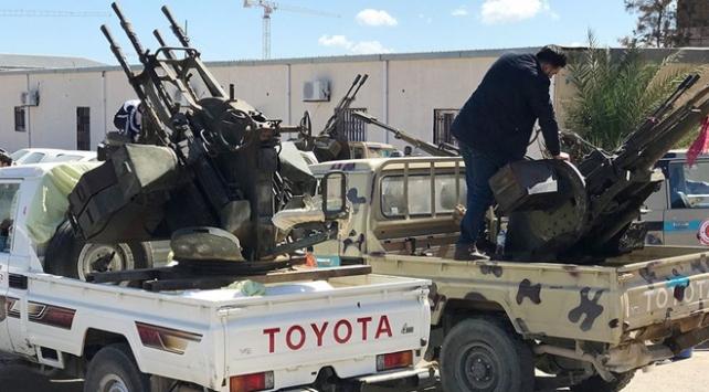 Öfke Volkanı Harekatının sürdüğü Libyada son durum