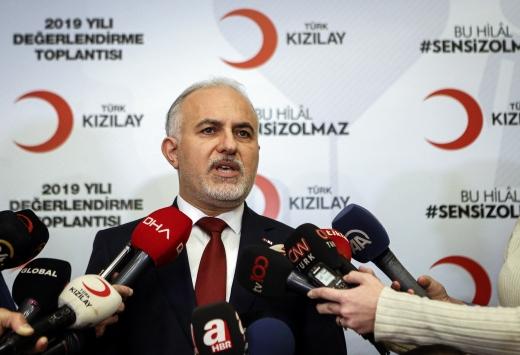 Türk Kızılay Suriye içerisinde yeni barınma alanları oluşturacak
