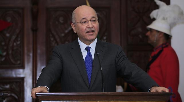 Irak Cumhurbaşkanı Salih: Baskılar devam ederse istifa ederim