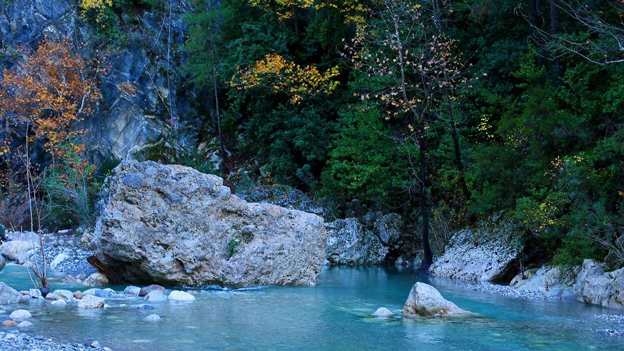 Eşsiz doğasıyla Göynük Kanyonu