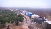 İdlib'den kaçan Suriyelilerin mücadelesini TRT Haber görüntüledi