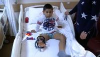 Minik Ronaldo hastalığına çareyi Türkiye'de buldu