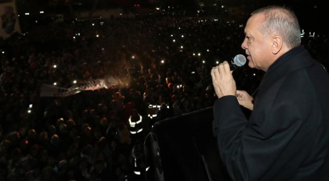 Cumhurbaşkanı Erdoğan: İsteseniz de istemeseniz de Kanal İstanbul yapılacaktır