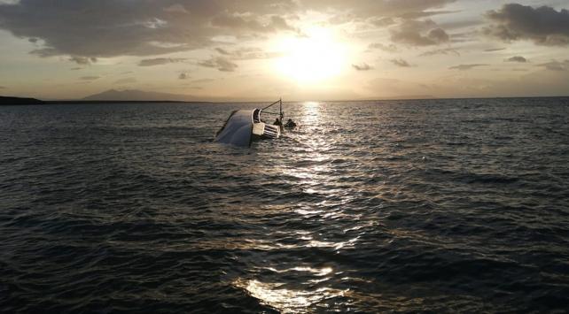 Van Gölünde göçmenleri taşıyan teknenin alabora olmasıyla ilgili 5 gözaltı