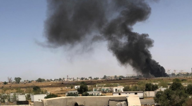 Libyadaki Hafter güçleri Zaviye kentinde mühendislik enstitüsünü bombaladı