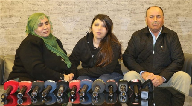 Ailesine kavuşan Mekiye, dağa nasıl kaçırıldığını anlattı