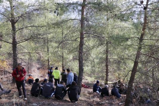Muğlada kayıp olarak aranan kişinin cesedi ormanda bulundu