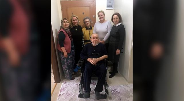 Beypazarında engellilere tekerlekli sandalye