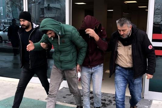 Konyada fabrikalardan hırsızlık yaptıkları iddia edilen 6 şüpheli yakalandı