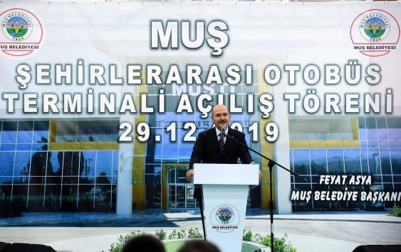 """İçişleri Bakanı Soylu: """"Birileri çatlasa da patlasa da Kanal İstanbulu yapacağız"""""""