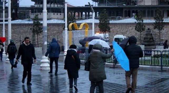 İstanbulda fırtına uyarısı