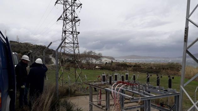 Marmara Adasında elektrik kesintisine yol açan kablo arızasının yeri belirlendi