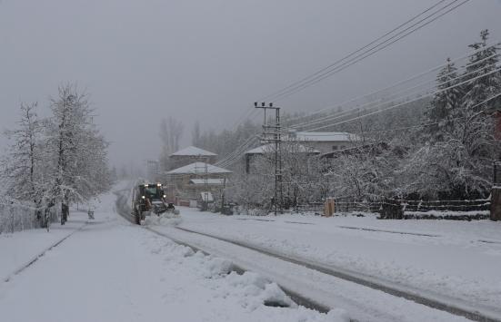Adanada kar yağışı
