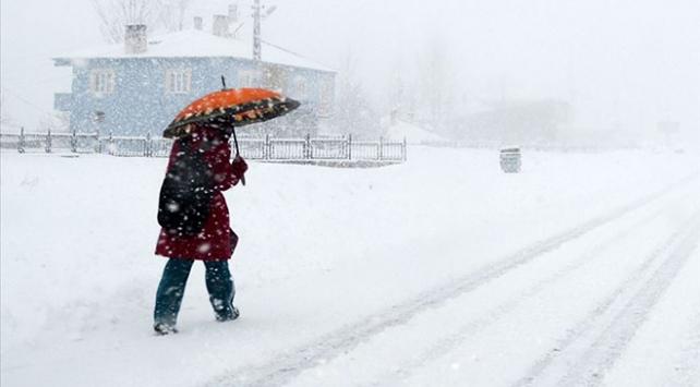 Eskişehirin iki ilçesinde eğitime kar tatili
