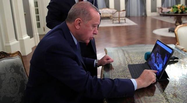 Cumhurbaşkanı Erdoğan yılın fotoğrafını seçti