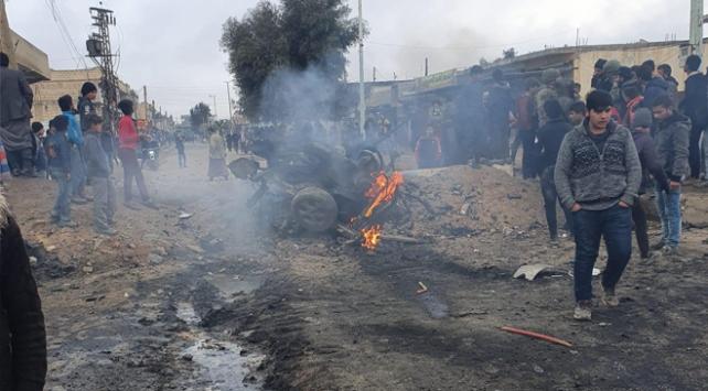 Tel Abyadda bombalı saldırı: 2 ölü, 4 yaralı