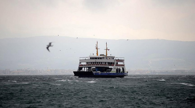Deniz ulaşımına fırtına engeli