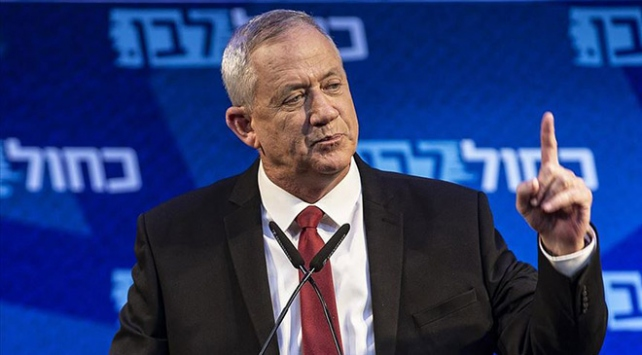 İsrailli siyasi lider Gantz: Netanyahu suçlu olduğunu biliyor