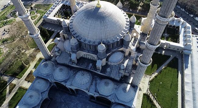 Mimar Sinanın ustalık eseri Selimiye Camii 3 milyon kişiyi ağırladı