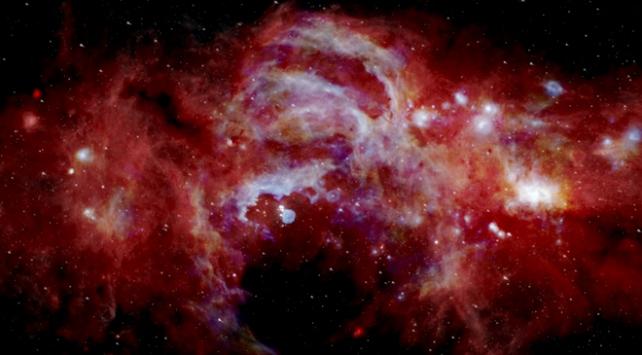 NASA Samanyolu Galaksisinin merkezini görüntüledi