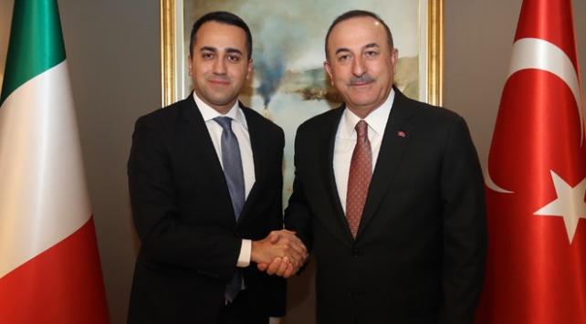 Dışişleri Bakanı Çavuşoğlu İtalyan mevkidaşı Di Maio ile görüştü