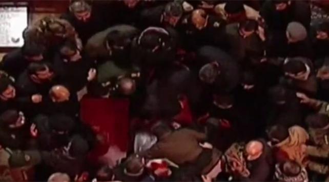 Kasım Süleymaninin cenazesi Kirmanda toprağa verildi