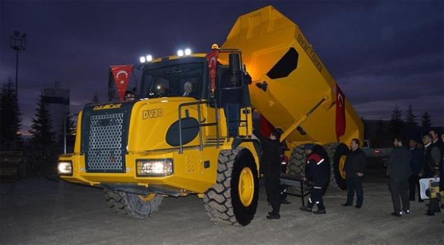 """Kaya kamyonu """"Deve"""" seri üretime hazırlanıyor"""