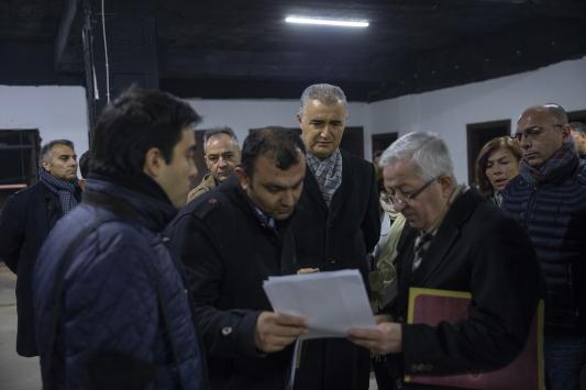 Ankarada geçen yıl 5 Suriyelinin öldüğü atölyede keşif yapıldı